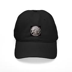 Silver Indian Head Baseball Hat