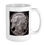 Silver Indian Head Large RH Mug