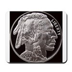 Silver Indian Head Mousepad