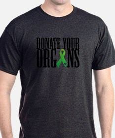 Donate Your Organs With Heart T-Shirt