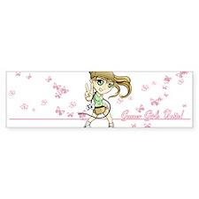 Gamer Girl Lily Bumper Sticker