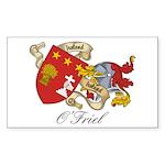 O'Friel Family Sept Rectangle Sticker
