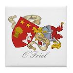 O'Friel Family Sept  Tile Coaster