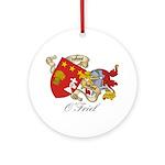 O'Friel Family Sept  Ornament (Round)