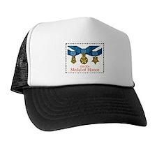 Military Stamp Trucker Hat