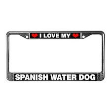 I Love My Spanish Water Dog