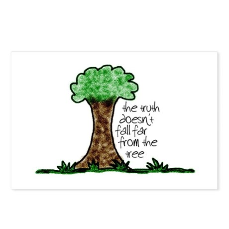 Truth Tree Postcards (Package of 8)