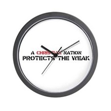 Christian Nation Protects Wall Clock