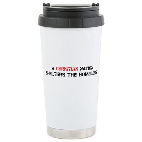 Christian Nation Shelters Stainless Steel Travel M