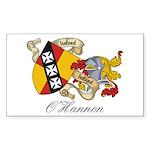 O'Hannon Family Sept Rectangle Sticker