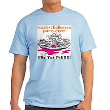Scary Halloween Tea Party T-Shirt