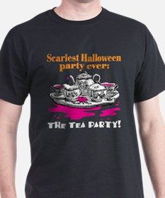 Scary Halloween Tea Party T-Shirt