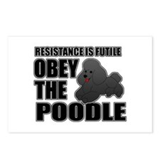 Obey The Poodle Postcards (Package of 8)