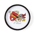 O'Hart Family Sept Wall Clock