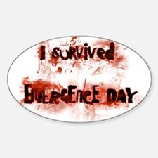 Emergence Day Sticker (Oval)