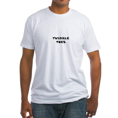 TWINKLE TOES Fitted T-Shirt