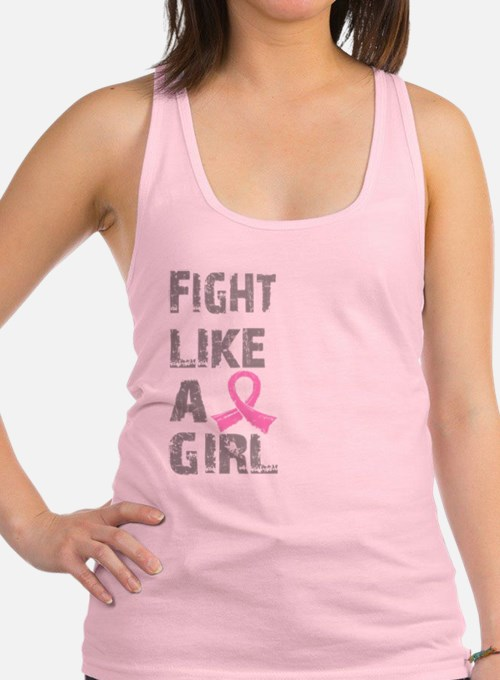 - Breast Cancer Fight Like a Girl Tank Top