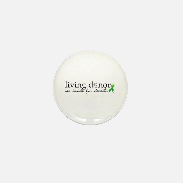 Cute Kidney donation Mini Button