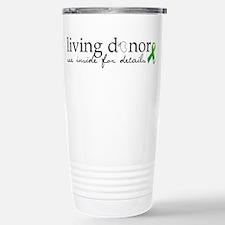 Unique Organ donation Travel Mug