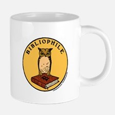 Bibliophile Seal (w/ text) 20 oz Ceramic Mega Mug