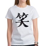 Smile Japanese Kanji Women's T-Shirt