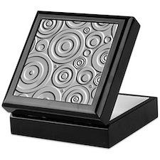 Metallic Circles Keepsake Box