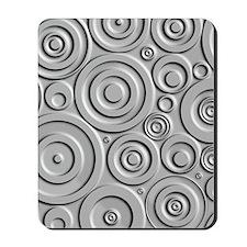 Metallic Circles Mousepad
