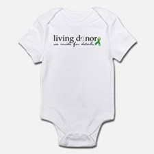 Cute Living donor Infant Bodysuit