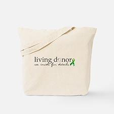 Unique Kidney transplant Tote Bag