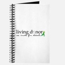 Cute Living donor Journal