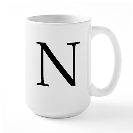 N Large Mug