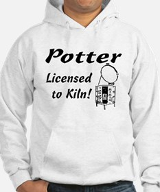Potter. Licensed to Kiln (sketch) Hoodie