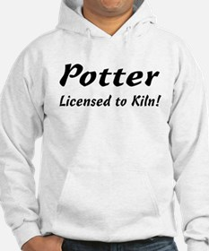 Potter. Licensed to Kiln Hoodie