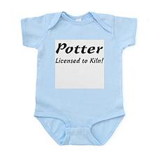 Potter. Licensed to Kiln Infant Creeper