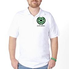 Saudi Arabia World Cup Soccer Wreath T-Shirt