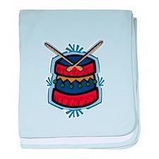 Christmas Drum Infant Blanket