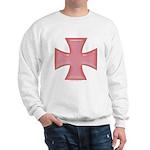 Pink Iron Cross Sweatshirt