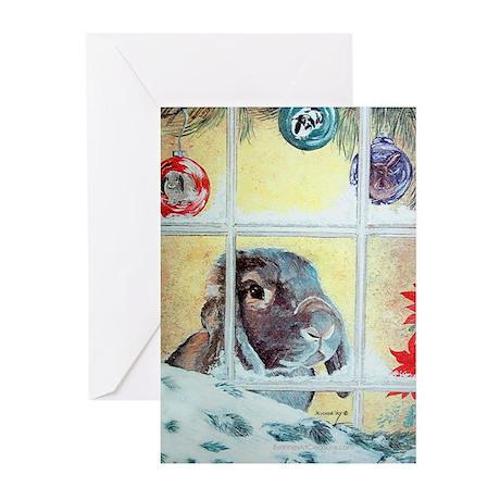 Pokey Lop Rabbit Christmas Cards (Pk of 20)