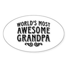 Awesome Grandpa Decal
