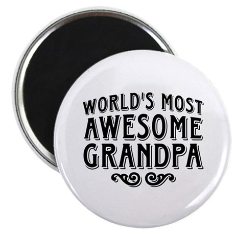 Awesome Grandpa Magnet