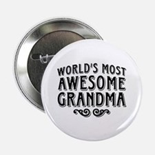 "Awesome Grandma 2.25"" Button"