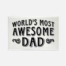 Awesome Dad Rectangle Magnet