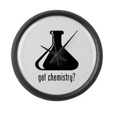 Chemistry 2 Large Wall Clock