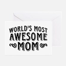 Awesome Mom Greeting Cards (Pk of 10)