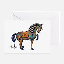 Tang Horse #2  Greeting Cards (Pk of 10)