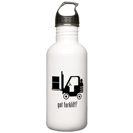 Forklift Stainless Water Bottle 1.0L