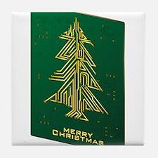Merry Christmas - Geek Tile Coaster