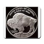 Silver Buffalo Mousepad