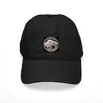 Silver Buffalo Black Cap