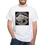 Silver Buffalo White T-Shirt